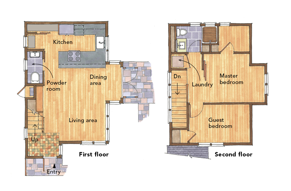 5 small home plans to admire Best small floor plans