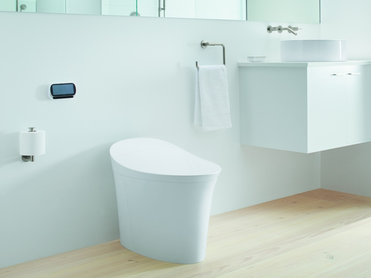 If you want more comfort  and more gadgets  in your bathroom  the Kohler Veil Intelligent may be the toilet for you. Kohler  39 s Intelligent Toilet Might Make You Brag About Your Bathroom