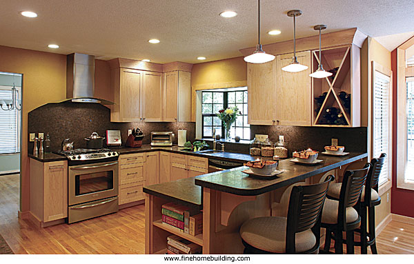 Update kitchen upgrade calculator fine homebuilding for Cost to update kitchen cabinets and countertops