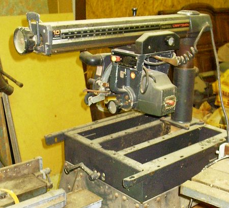 radial arm saw1 whatever happened to the radial arm saw? fine homebuilding  at panicattacktreatment.co