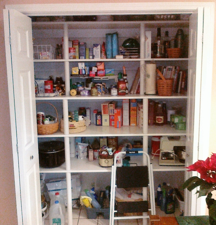 Pipe Shelves Kitchen: Sleak Supports For Pantry Shelves
