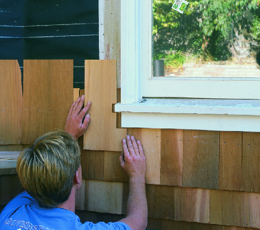 What S The Best Way To Install Cedar Shingle Siding On An