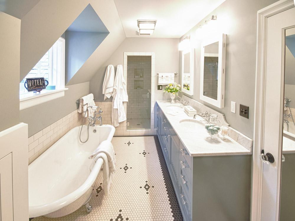 Master suite in historic tudor home fine homebuilding for Victorian tudor suite