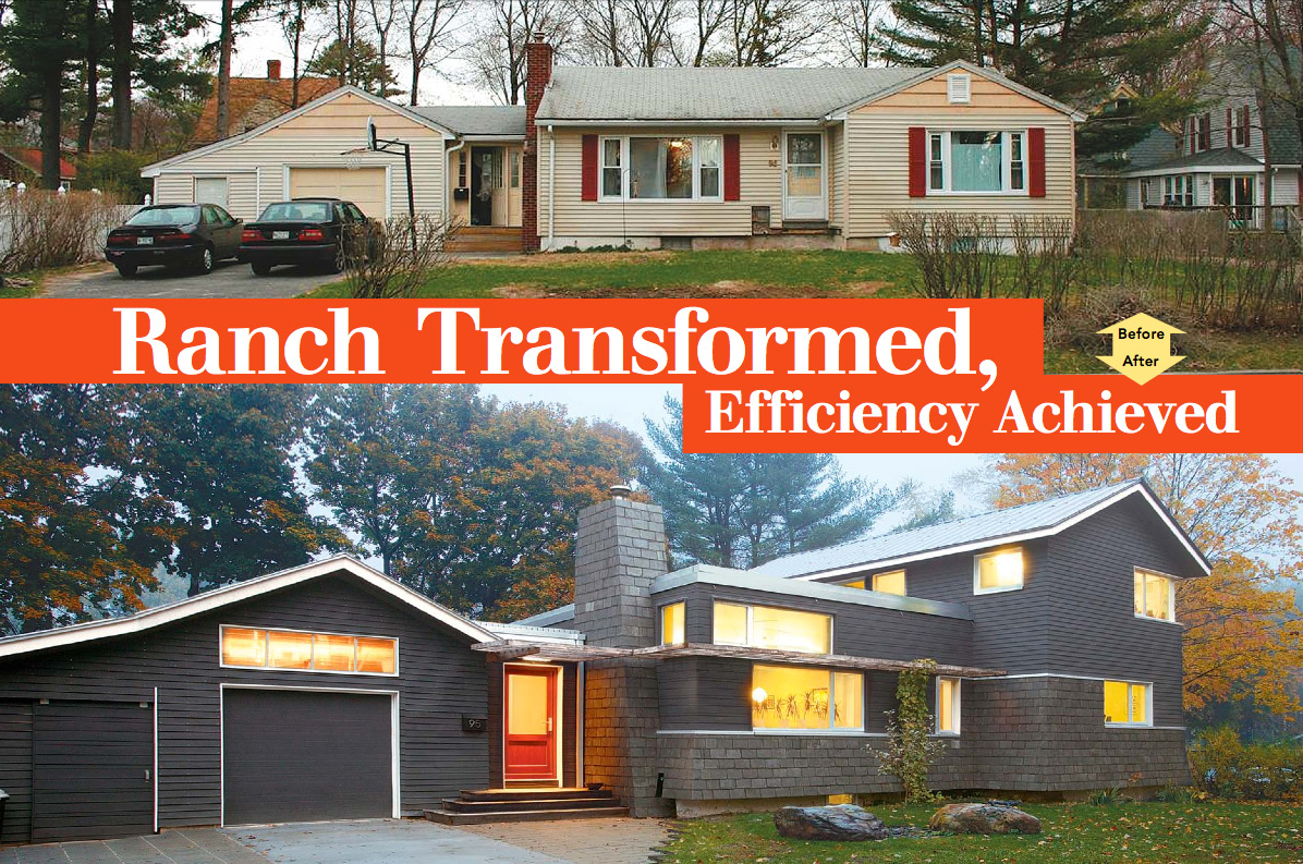 Ranch transformed efficiency achieved fine homebuilding for 2nd story addition plans
