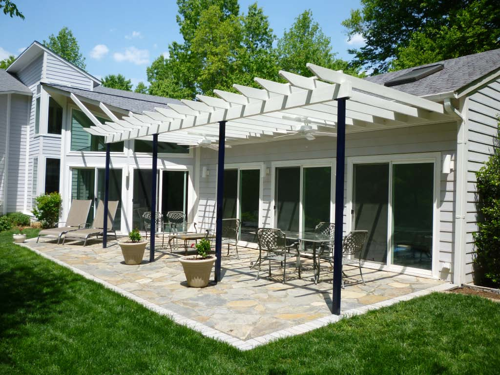 patio pergola fine homebuilding. Black Bedroom Furniture Sets. Home Design Ideas