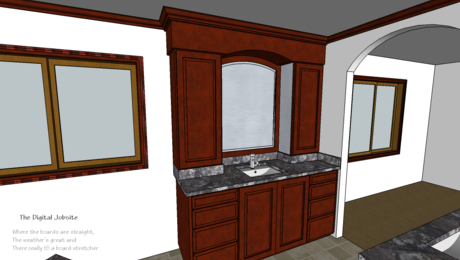 "Solving ""what if?"" scenarios with an unrefined SketchUp model."