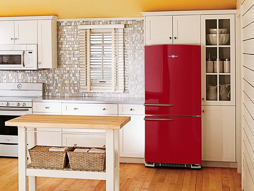 Kitchen appliance colors 2016 - Bell Pepper Red