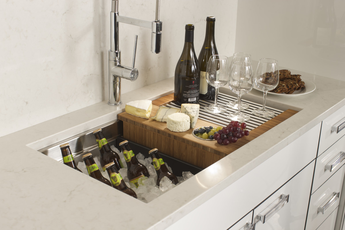 The swiss army sink fine homebuilding for The galley sink price