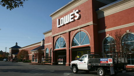 Lowe's has stopped selling a brand of Chinese-made laminate flooring after reports surfaced that it had levels of formaldehyde that would not meet California air standards.