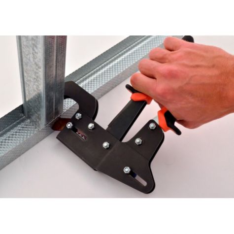 the tools costs about 135 and weighs less than 2 lb - Metal Stud Framing Tools