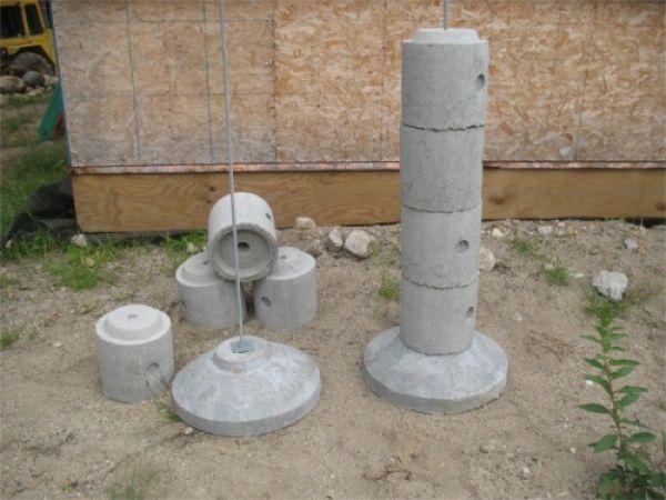 Precast Footings: EZ-Tube - Fine Homebuilding