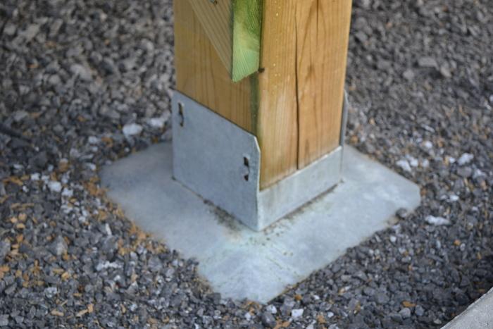 Free Standing Deck Footings Fine Homebuilding