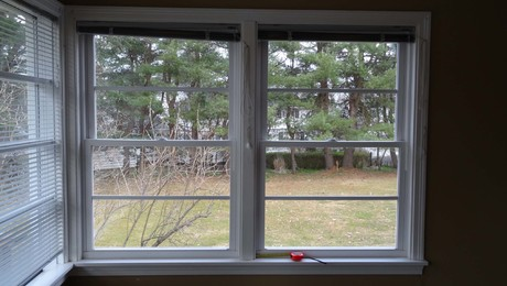 Unconventional Installation: Replacement window installed after removal of jambs