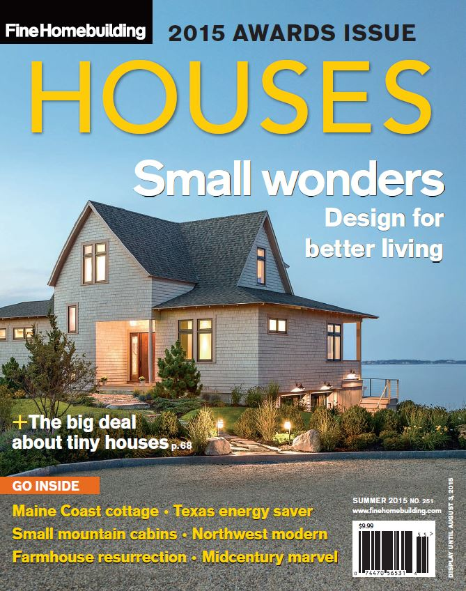 Announcing Fine Homebuilding S 2015 Houses Award Winners Fine Homebuilding