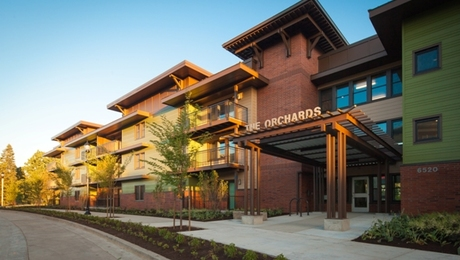 Orchards at Orenco,a 57-unit affordable-housing project in Hillsboro, Ore., was named overall winner of a design competition sponsored by the Passive House Institute US.