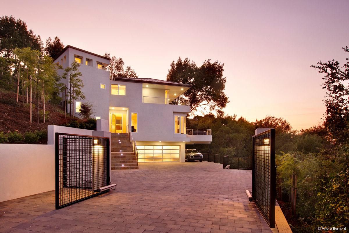 hillside modern house - Modern Hillside Homes