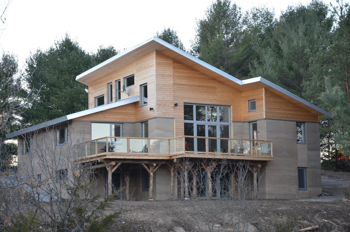 castleton residence insulated rammed earth fine homebuilding. Black Bedroom Furniture Sets. Home Design Ideas