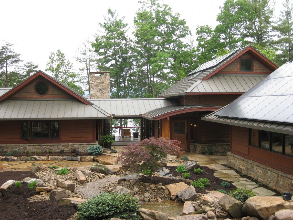 mountain lake house plans