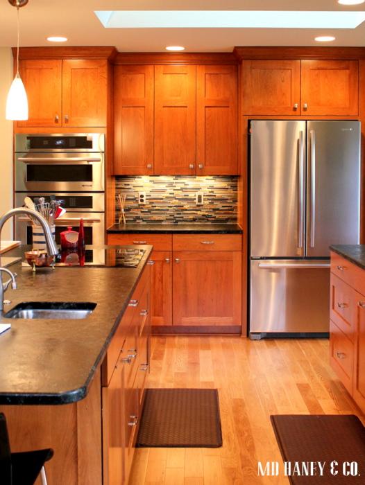 light cherry kitchen cabinets. Light Cherry Kitchen Cabinets 1970 U0027s Ranch Remodel Fine Homebuilding  Double Shaker Renton fruitesborras com 100 Images The