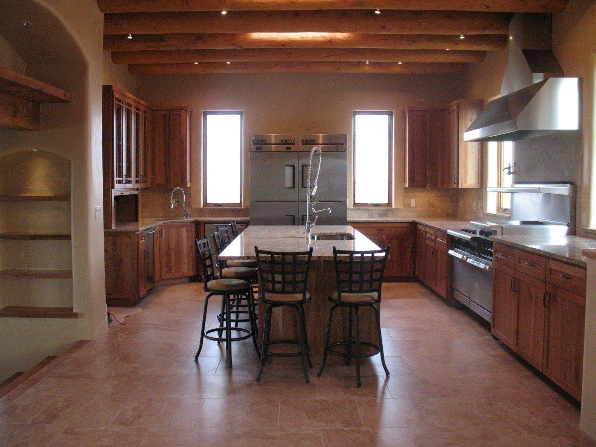 Santa fe kitchen fine homebuilding for Santa fe kitchen