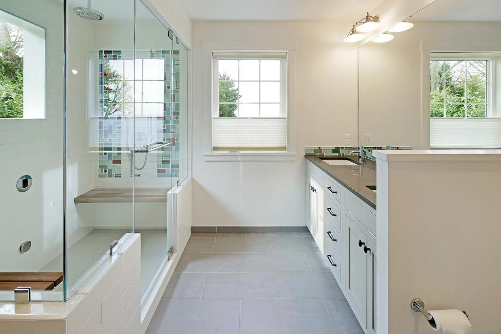 Master Bathroom With Steam Shower Fine Homebuilding