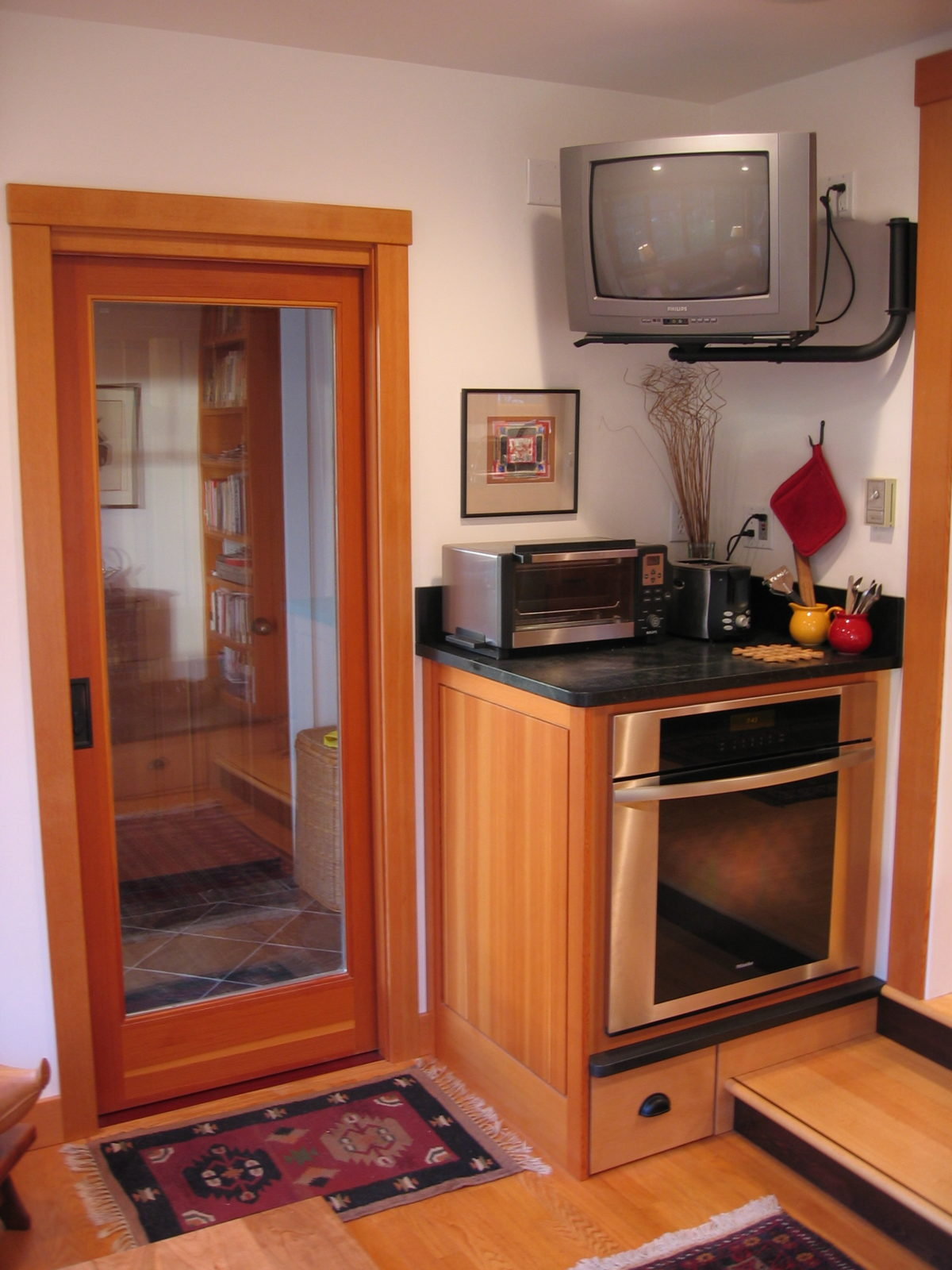 Kitchen Entryway A Cabinetmakers Personal Kitchen Remodel At Last