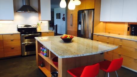 horizontal clear grain fir cabinets