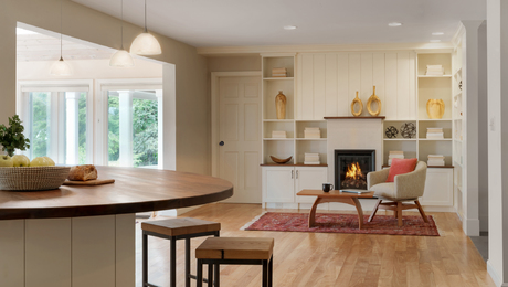 Architect: Anna Thelemark with Struktur Contractor: Peregrine Design Build