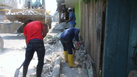 Falling debris kills in a quake, just as well as collapsing buildings will.