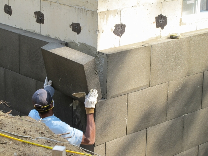 Foamglas insulation exits u s residential market fine for Foam block wall construction
