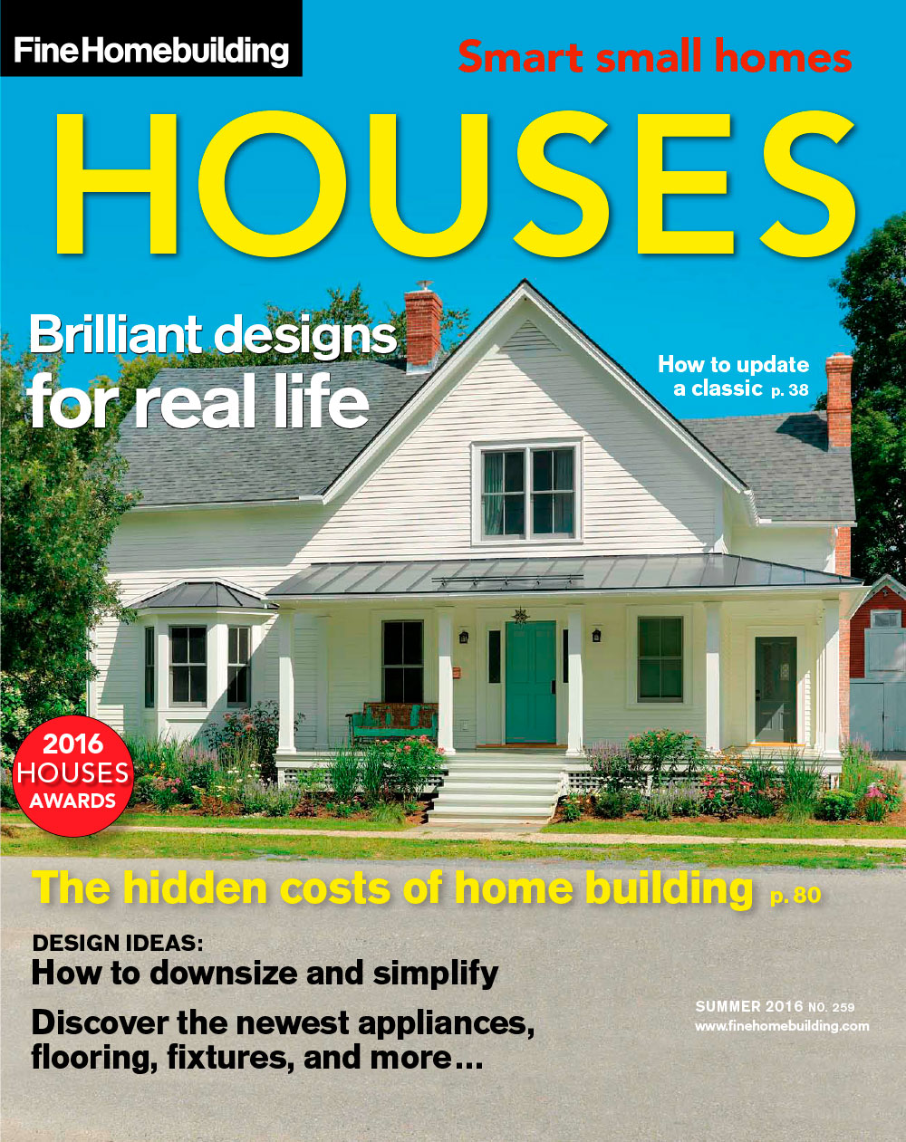 Issue 259 houses 2016 fine homebuilding for Home building magazines