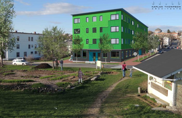 Maine Gets Another Passive House Multifamily Fine