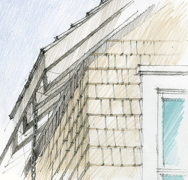 Exterior Rafter Tails : Exposed rafter tails fine homebuilding