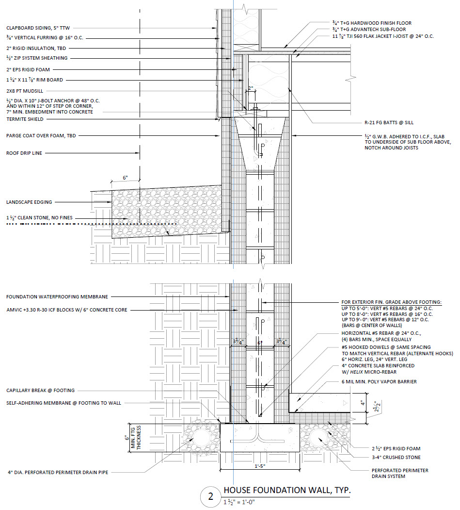 Fine Homebuilding Prohome ICF foundation detail 2