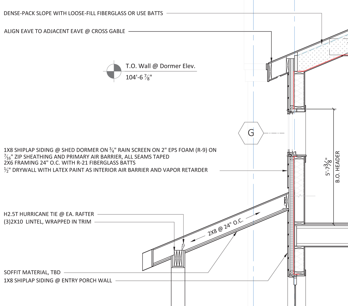 Advanced wall framing fine homebuilding for What is a 2x6