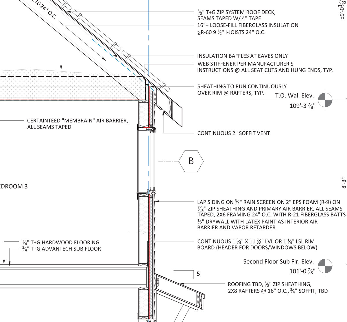 Advanced Wall Framing Fine Homebuilding