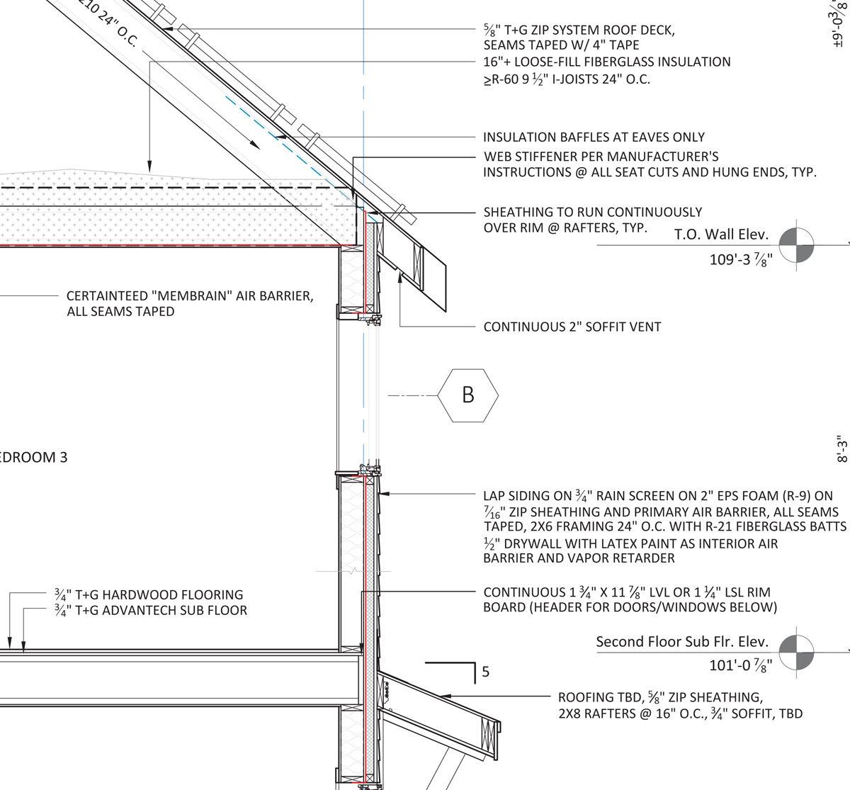 Wall Framing Details : Advanced wall framing fine homebuilding