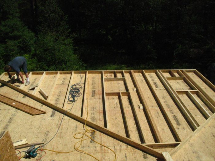 rake wall framing