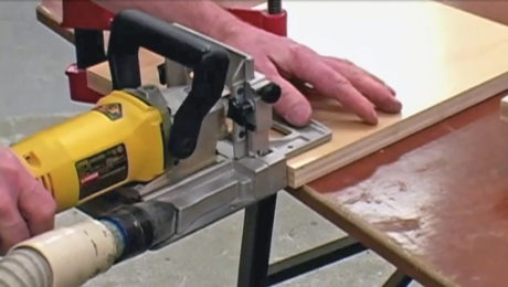 Biscuit joinery basics video