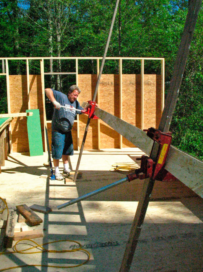 Wall Jacks For Framing wall-framing tools i love: qualcraft wall jacks - fine homebuilding