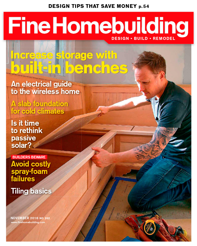 Home Building Tips magazine - fine homebuilding