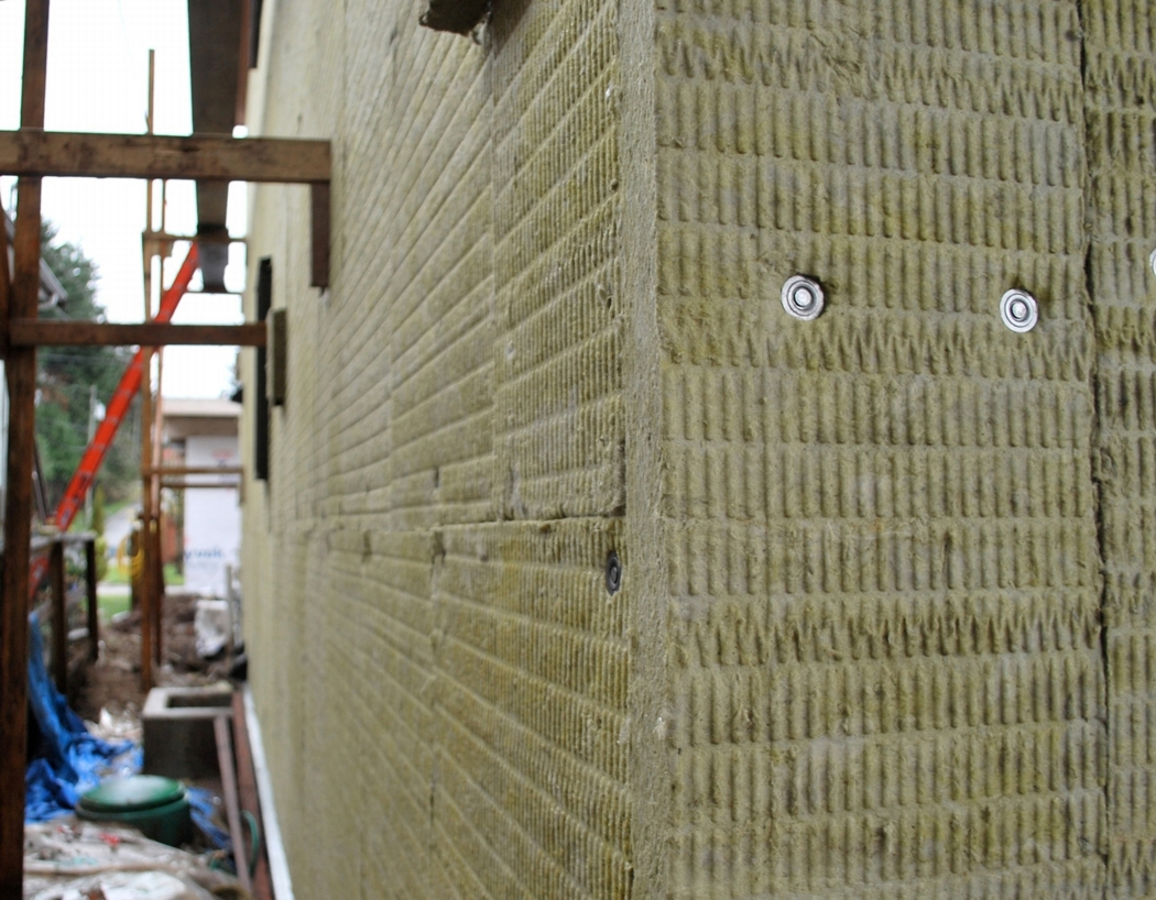 Thermal and moisture control layers for Roxul insulation r value