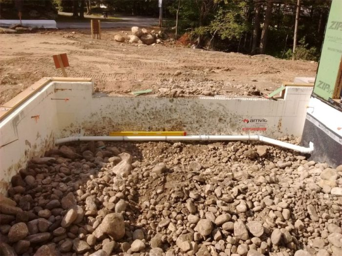 Backfilling The Garage Fine Homebuilding