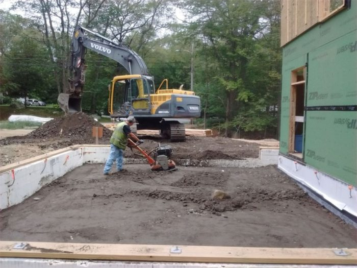 Garage backfill 1