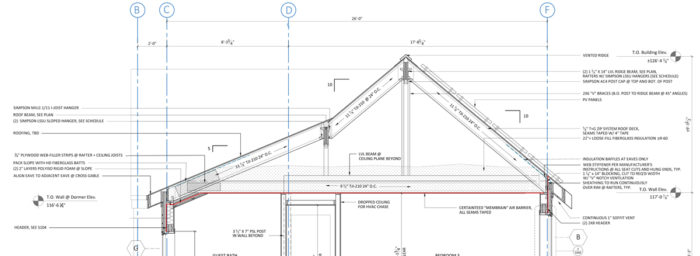 Perfect ProHOME Roof Framing Section