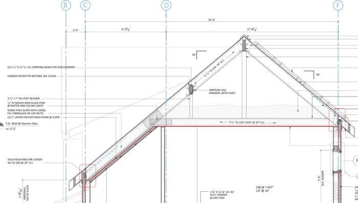 Exceptional ProHOME Roof Framing Section