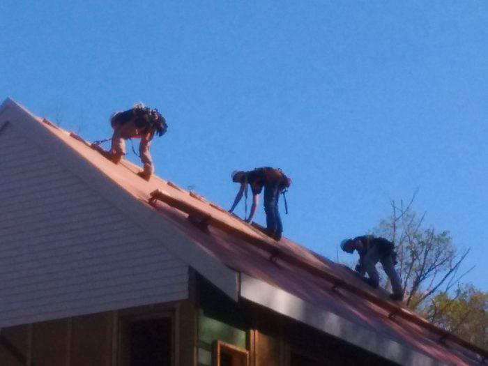 roof sheathing 1