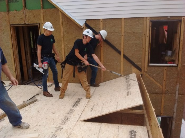 Extend Your Reach When Laying Subfloor Fine Homebuilding