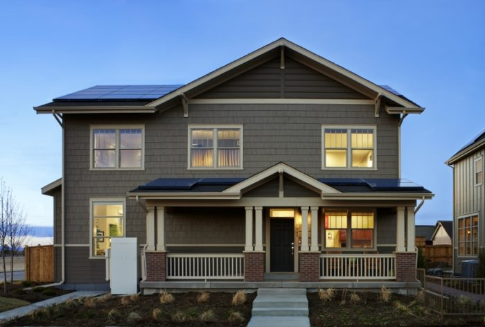 New Town Builders, Denver, CO, 2014 Grand Award Winner at DOE under the Production Builder category, is in the process of converting all of its product lines to zero energy-ready construction.