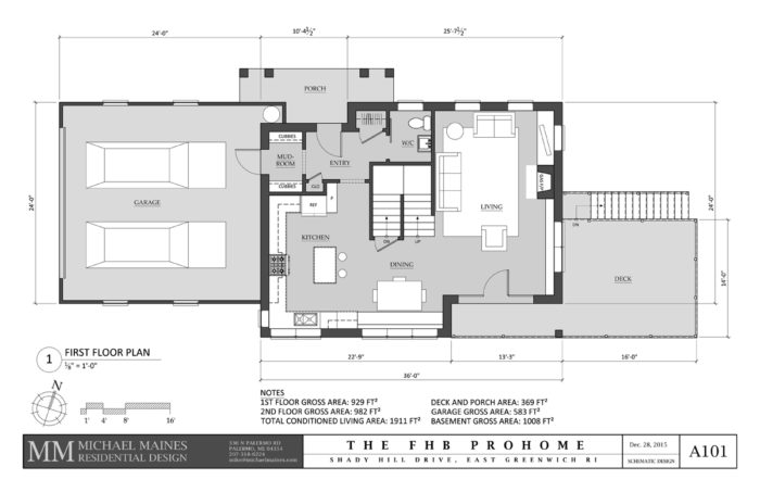 SCHEMATIC DESIGN 2: FIRST FLOOR PLAN